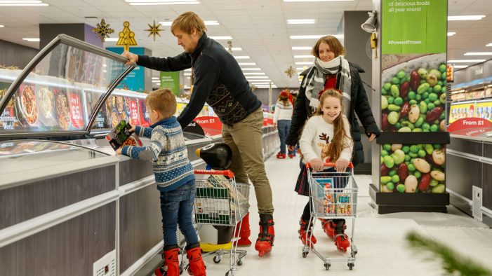 Iceland Launch World's First Instore Ice Rink via Taylor Herring