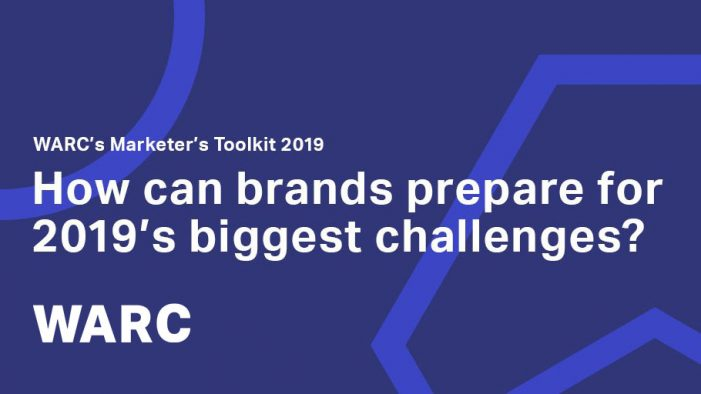 WARC launches Marketer's Toolkit 2019