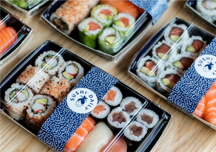 Without Rebrands Sushi Daily for UK High-Street Launch