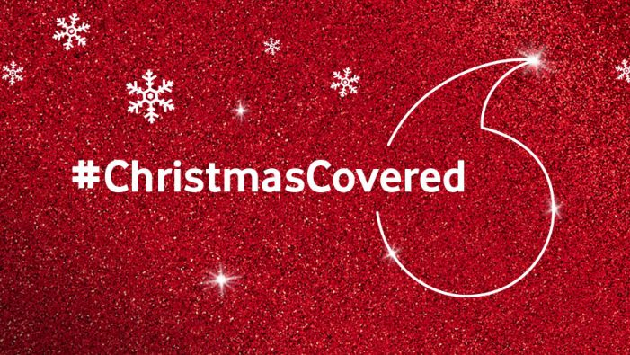 Vodafone launches new #ChristmasCovered campaign via We Are Social