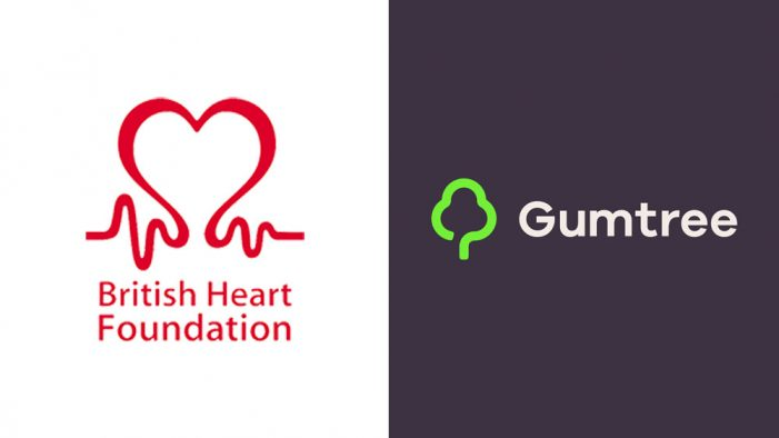 Gumtree teams with the British Heart Foundation to promote the charity's pre-loved furniture and homeware