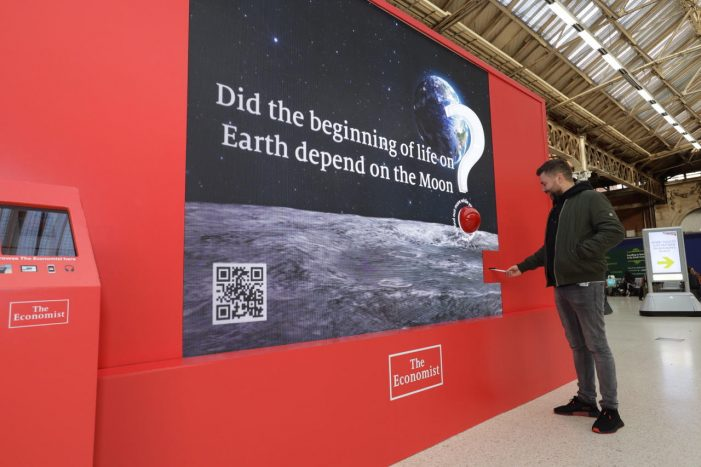 The Economist expands on brand TV with experiential activation at London Victoria Station