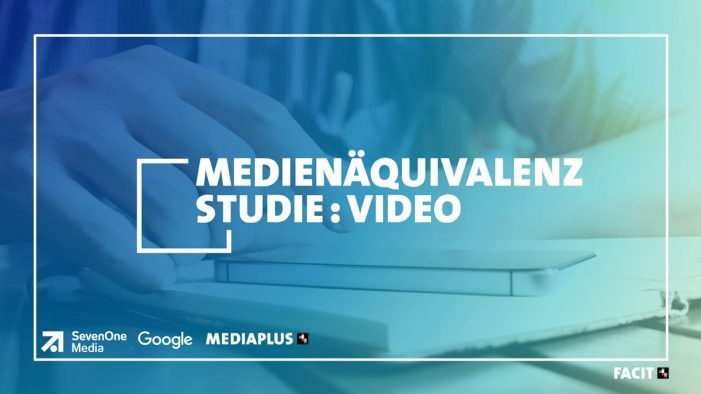 The first study of its kind demonstrating the qualitative impact of TV, YouTube, and Facebook video media