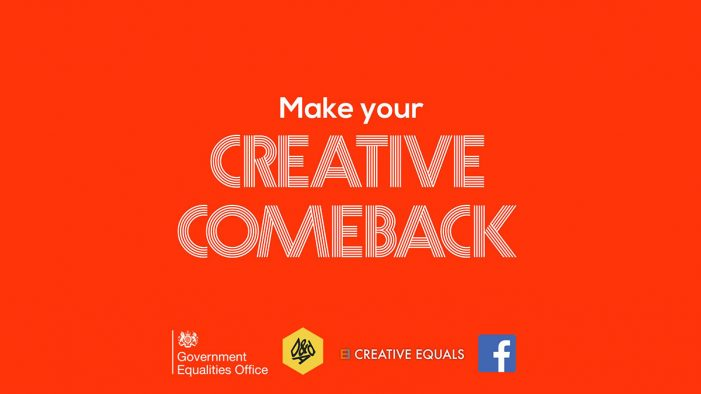 120 women already registered for Creative Equals' 'Returns' scheme as deadline approaches