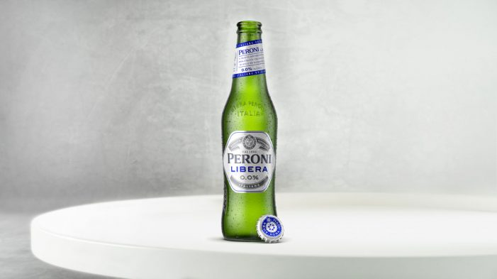 Nude Brand Creation Develops the Packaging & Identity for New Alcohol-Free Beer Peroni Libera
